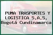 PUMA TRASPORTES Y LOGISTICA S.A.S. Bogotá Cundinamarca