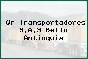 Qr Transportadores S.A.S Bello Antioquia