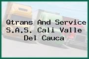 Qtrans And Service S.A.S. Cali Valle Del Cauca
