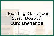Quality Services S.A. Bogotá Cundinamarca