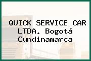 QUICK SERVICE CAR LTDA. Bogotá Cundinamarca