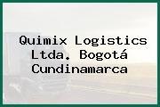 Quimix Logistics Ltda. Bogotá Cundinamarca
