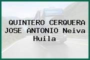 QUINTERO CERQUERA JOSE ANTONIO Neiva Huila