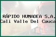 RÁPIDO HUMADEA S.A. Cali Valle Del Cauca