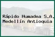 Rápido Humadea S.A. Medellín Antioquia