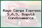 Rayo Carga Express S.A.S. Bogotá Cundinamarca