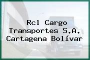 Rcl Cargo Transportes S.A. Cartagena Bolívar