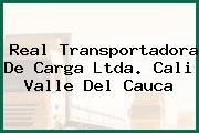 Real Transportadora De Carga Ltda. Cali Valle Del Cauca