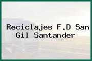 Reciclajes F.D San Gil Santander