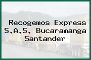 Recogemos Express S.A.S. Bucaramanga Santander