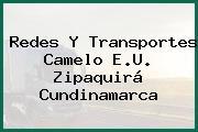 Redes Y Transportes Camelo E.U. Zipaquirá Cundinamarca