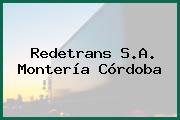 Redetrans S.A. Montería Córdoba