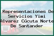 Representaciones De Servicios Yimi Alvarez Cúcuta Norte De Santander