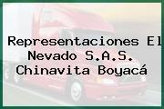 Representaciones El Nevado S.A.S. Chinavita Boyacá