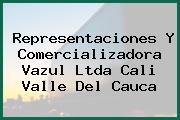 Representaciones Y Comercializadora Vazul Ltda Cali Valle Del Cauca