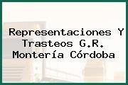 Representaciones Y Trasteos G.R. Montería Córdoba