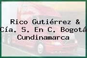 Rico Gutiérrez & Cía. S. En C. Bogotá Cundinamarca