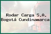 Rodar Carga S.A. Bogotá Cundinamarca