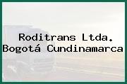 Roditrans Ltda. Bogotá Cundinamarca