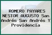 ROMERO PAYARES NESTOR AUGUSTO San Andrés San Andrés Y Providencia