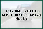 RUBIANO CACHAYA DARLY MAGALY Neiva Huila