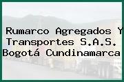 Rumarco Agregados Y Transportes S.A.S. Bogotá Cundinamarca
