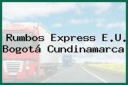 Rumbos Express E.U. Bogotá Cundinamarca