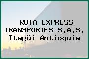 RUTA EXPRESS TRANSPORTES S.A.S. Itagüí Antioquia