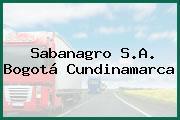 Sabanagro S.A. Bogotá Cundinamarca