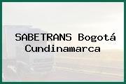 SABETRANS Bogotá Cundinamarca