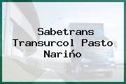 Sabetrans Transurcol Pasto Nariño