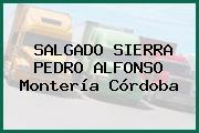 SALGADO SIERRA PEDRO ALFONSO Montería Córdoba