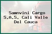 Samnvini Cargo S.A.S. Cali Valle Del Cauca