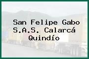 San Felipe Gabo S.A.S. Calarcá Quindío