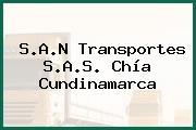 S.A.N Transportes S.A.S. Chía Cundinamarca