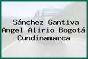 Sánchez Gantiva Angel Alirio Bogotá Cundinamarca
