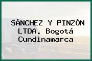 SÁNCHEZ Y PINZÓN LTDA. Bogotá Cundinamarca