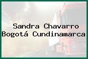 Sandra Chavarro Bogotá Cundinamarca