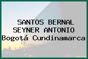 SANTOS BERNAL SEYNER ANTONIO Bogotá Cundinamarca