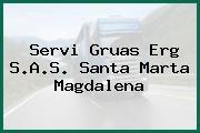 Servi Gruas Erg S.A.S. Santa Marta Magdalena
