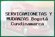 SERVICAMIONETAS Y MUDANZAS Bogotá Cundinamarca