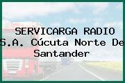 Servicarga Radio S.A. Cúcuta Norte De Santander