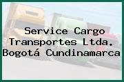Service Cargo Transportes Ltda. Bogotá Cundinamarca