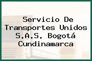 Servicio De Transportes Unidos S.A.S. Bogotá Cundinamarca
