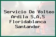 Servicio De Volteo Ardila S.A.S Floridablanca Santander