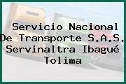 Servicio Nacional De Transporte S.A.S. Servinaltra Ibagué Tolima