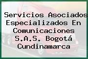 Servicios Asociados Especializados En Comunicaciones S.A.S. Bogotá Cundinamarca
