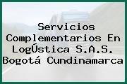 Servicios Complementarios En LogÚstica S.A.S. Bogotá Cundinamarca