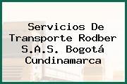 Servicios De Transporte Rodber S.A.S. Bogotá Cundinamarca