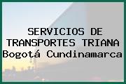 SERVICIOS DE TRANSPORTES TRIANA Bogotá Cundinamarca